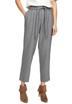 REGULAR FIT - Trousers - light grey