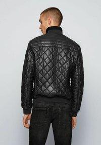 BOSS - JECEY - Leather jacket - black - 1