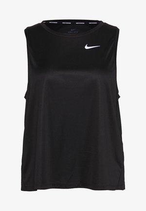 MILER TANK PLUS - Treningsskjorter - black/reflective silver