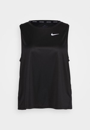 MILER TANK PLUS - Funktionsshirt - black/reflective silver
