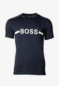 BOSS - T-shirt imprimé - marine - 0