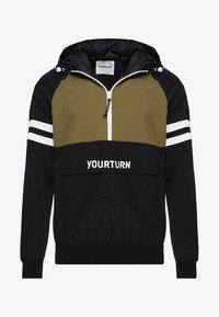 YOURTURN - Windbreaker - olive/black - 3