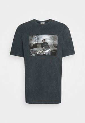 ICE CUBE TEE UNISEX - Print T-shirt - black
