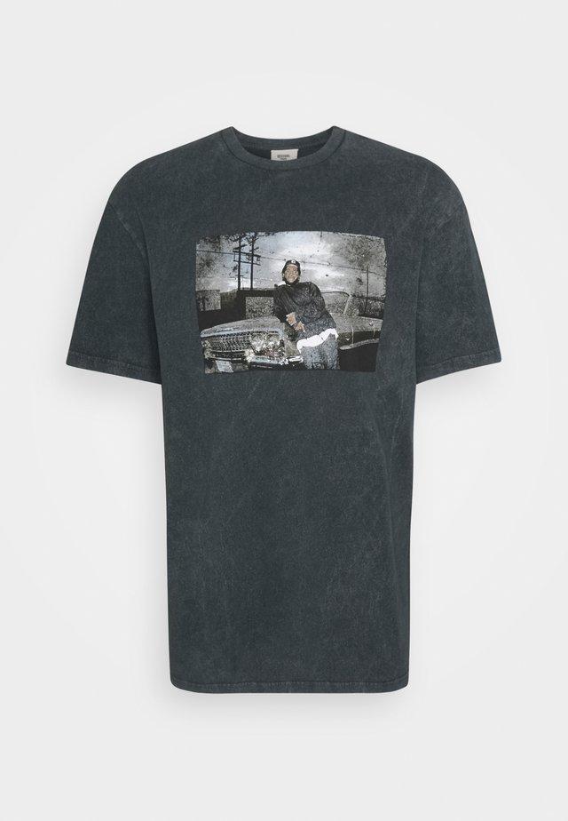 ICE CUBE TEE UNISEX - Camiseta estampada - black