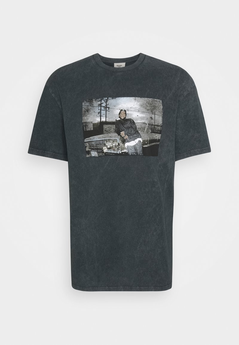 Revival Tee - ICE CUBE TEE UNISEX - Print T-shirt - black