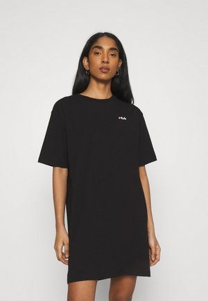 ELLE TEE DRESS - Jerseykjoler - black