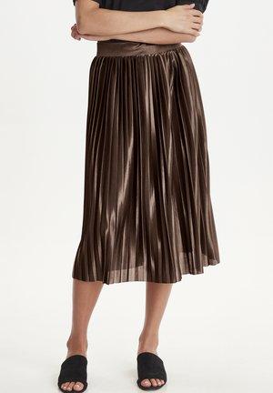 IXPLEAT SK - A-snit nederdel/ A-formede nederdele - brown