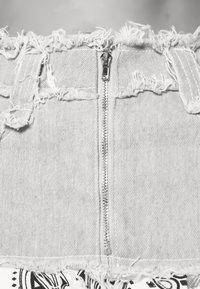 Jaded London - CHECK MIX PEPLUM SKIRT - Minifalda - multi coloured - 5