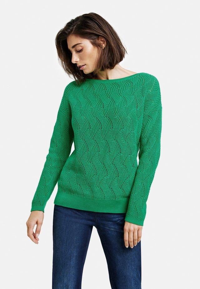Pullover - vibrant green