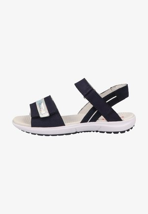 Walking sandals - blau