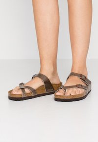 Birkenstock - MAYARI - T-bar sandals - graceful taupe - 0