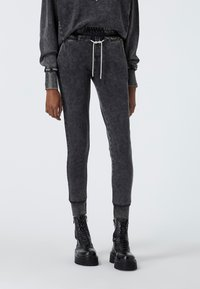 The Kooples - Tracksuit bottoms - grey washed - 0