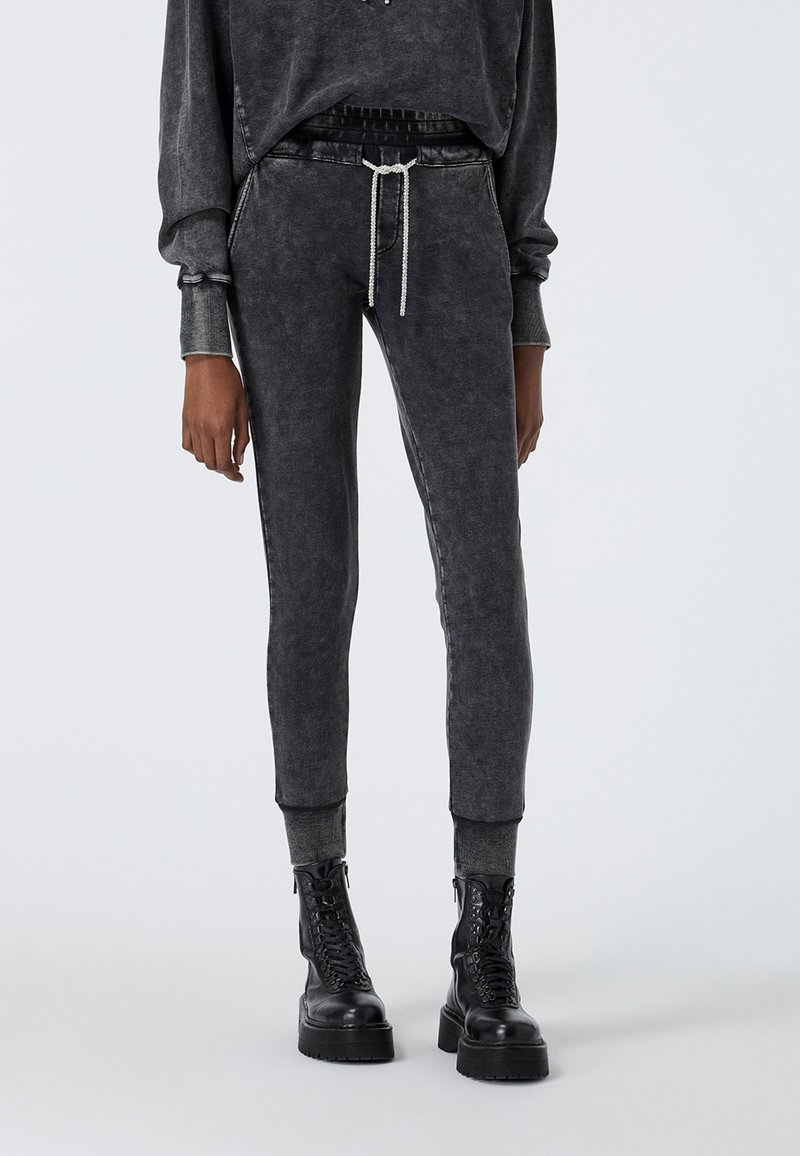The Kooples - Tracksuit bottoms - grey washed