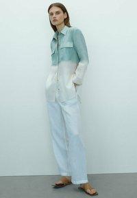 Massimo Dutti - Chemisier - turquoise - 1