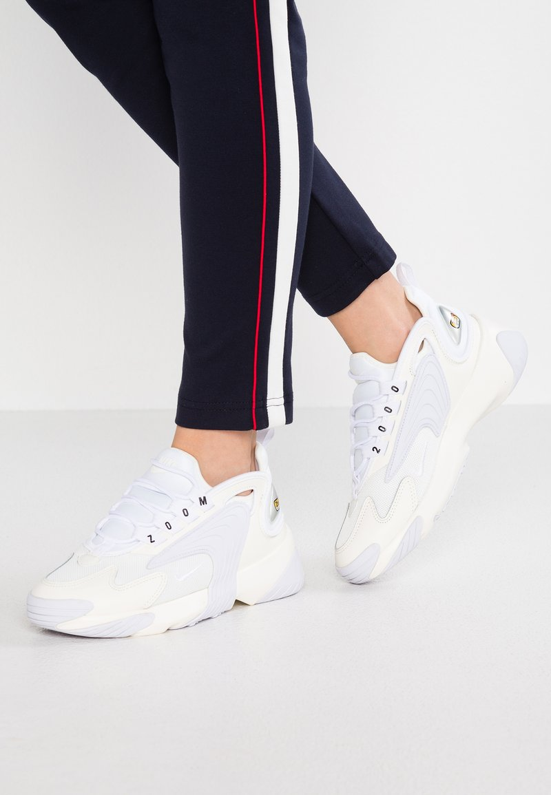 Nike Sportswear - ZOOM 2K - Trainers - sail/white/black
