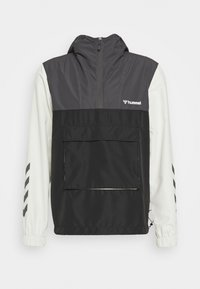 Hummel - AKELLO LOOSE HALF ZIP JACKET - Training jacket - black - 3