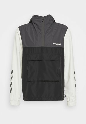 AKELLO LOOSE HALF ZIP JACKET - Kurtka sportowa - black