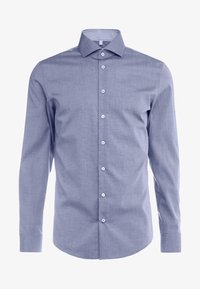 Seidensticker - SLIM FIT SPREAD KENT PATCH - Formal shirt - dark blue - 4