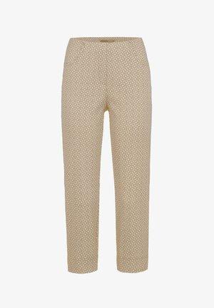 LOLI-602 98000 JACQUARDHOSE - Trousers - braun