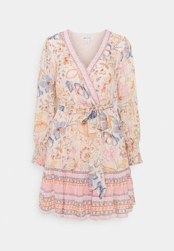 MARLEY PRINTED SKATER DRESS - Robe d'été - apricot