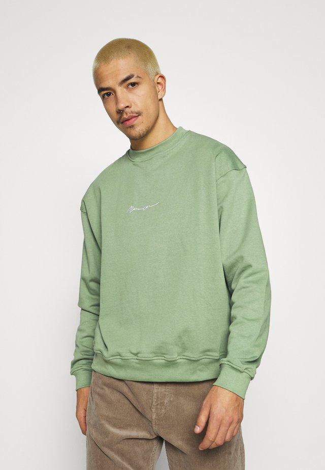 ESSENTIAL SIGNATURE BOXY UNISEX  - Sweatshirts - khaki