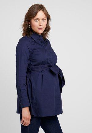 MATERNITY FLARED - Skjorte - winter true blue