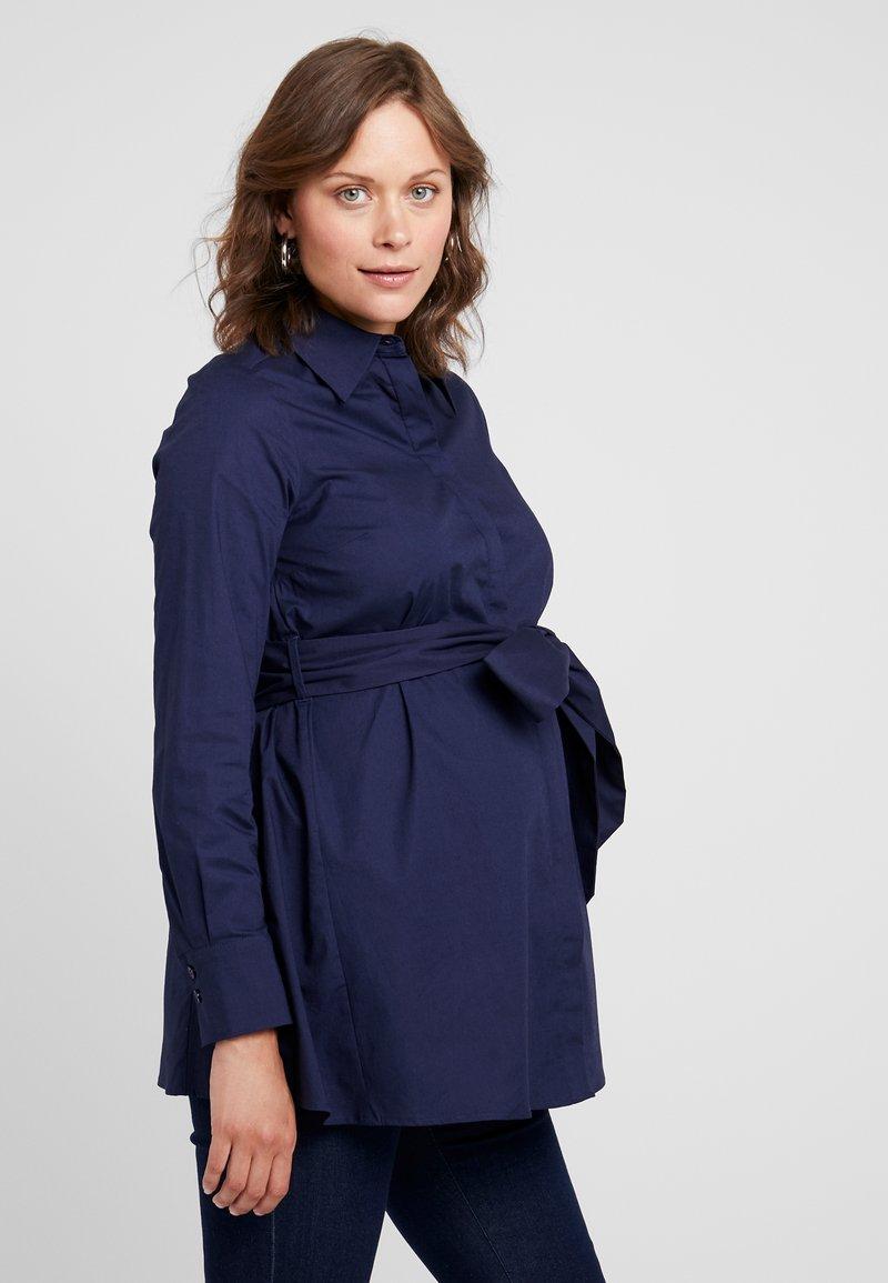 IVY & OAK Maternity - MATERNITY FLARED - Camicia - winter true blue