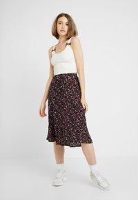 Object - A-line skirt - sky captain - 1