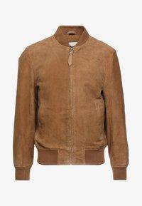 Schott - Kožená bunda - rost - 4