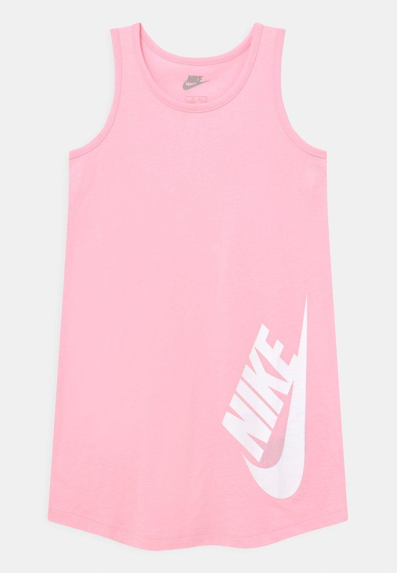 Nike Sportswear - FUTURA  - Jersey dress - arctic punch