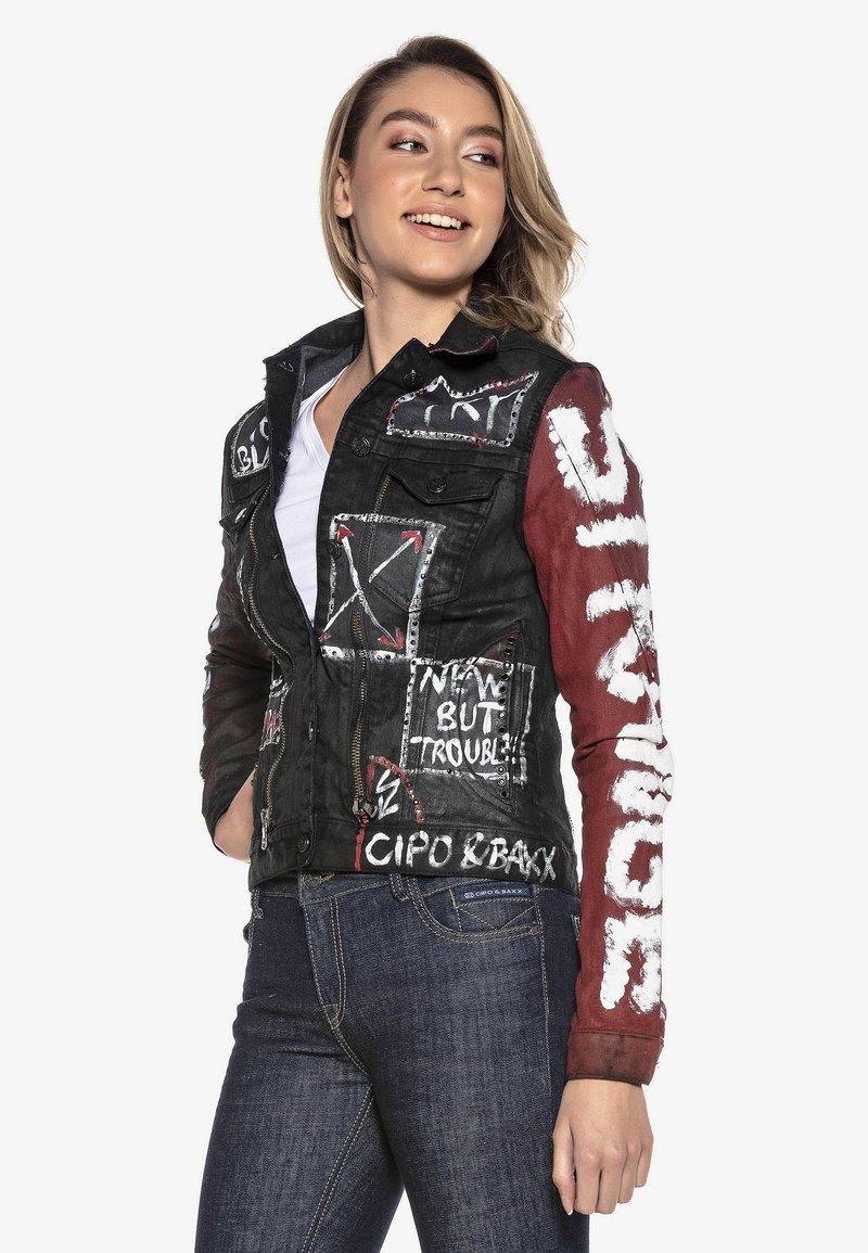 Cipo & Baxx - Denim jacket - schwarz