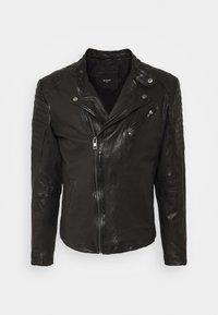 Be Edgy - Leather jacket - black - 0