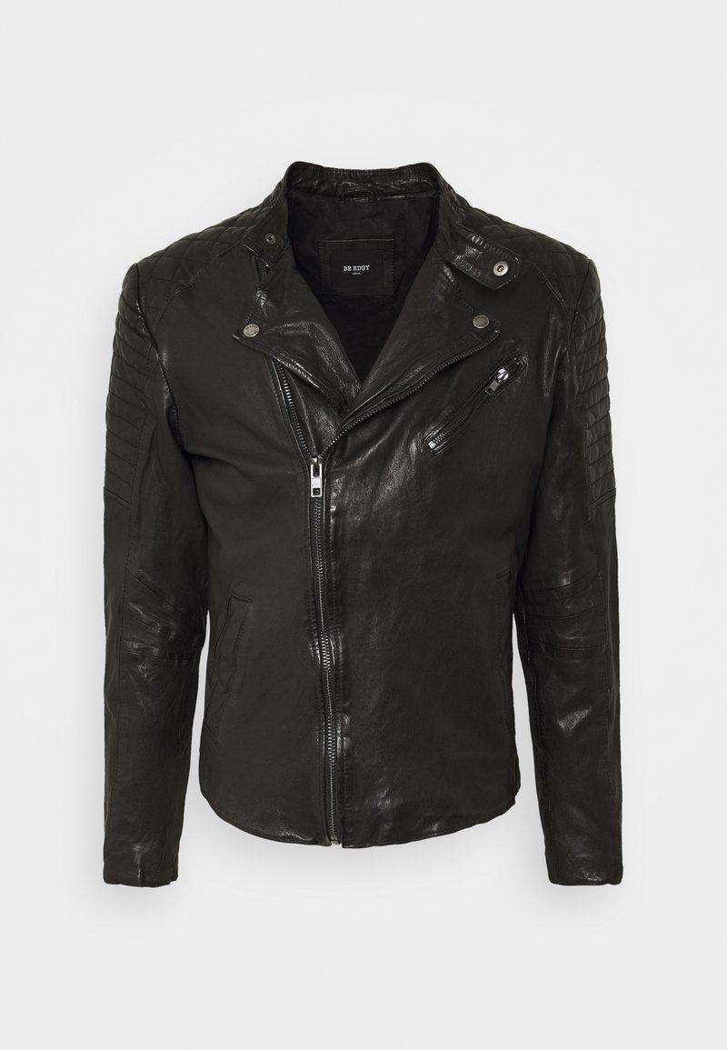 Be Edgy - Leather jacket - black