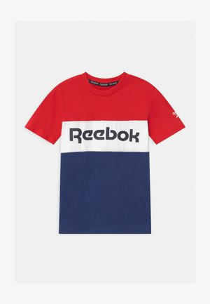 COLOR BLOCK - T-shirt print - red