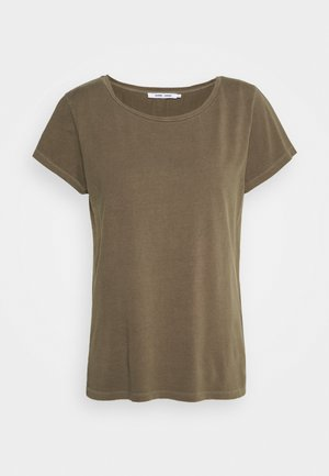 LISS - Basic T-shirt - dark olive