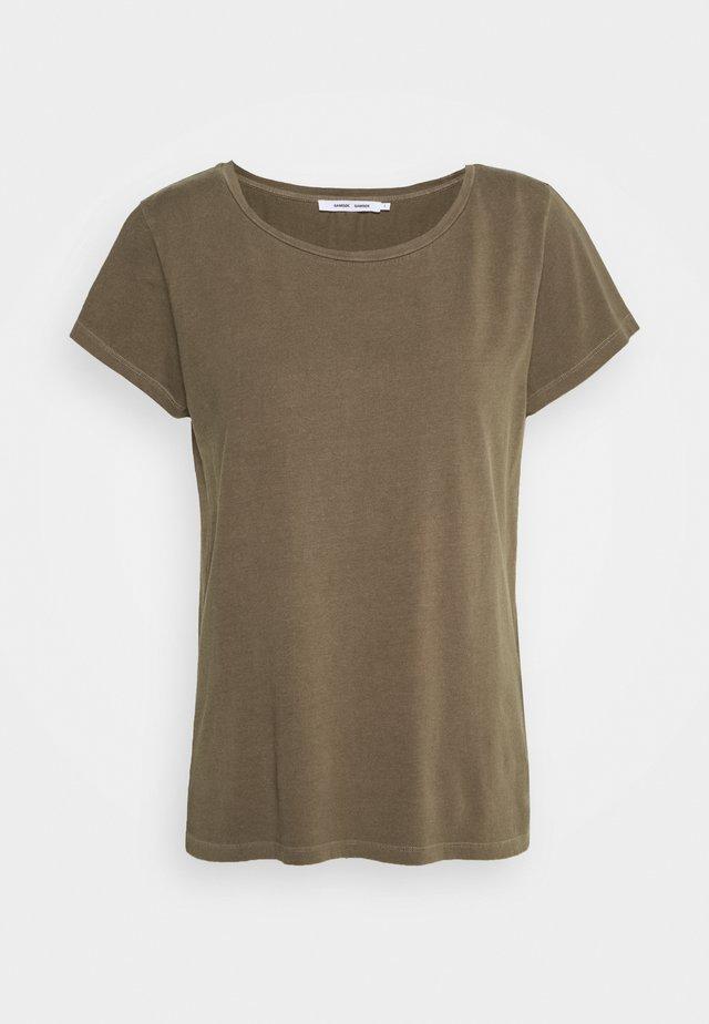 LISS - T-shirt basique - dark olive