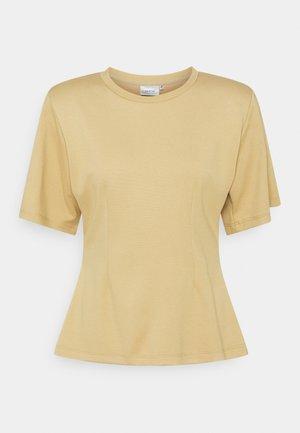ANKA TEE - Print T-shirt - sahara dust