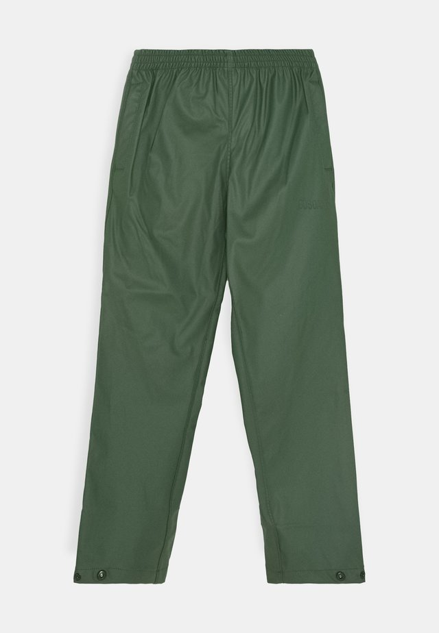 HIDDEN DRAGON UNISEX - Pantalones impermeables - green forest