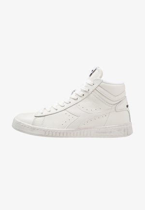 GAME WAXED - Sneakers hoog - white