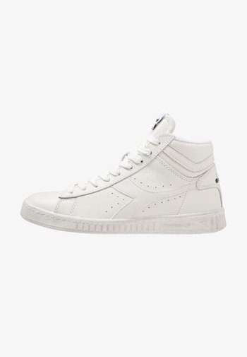 GAME WAXED - High-top trainers - white