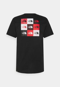 The North Face - MULTI BOX TEE - T-shirt print - black - 1