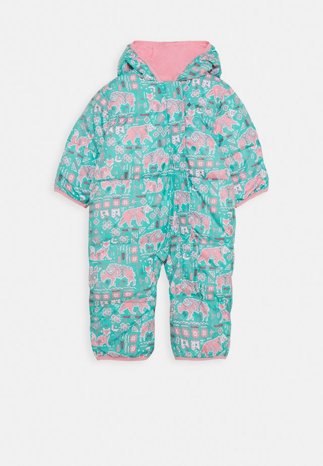 SNUGGLY BUNNY BUNTING - Snowsuit - dolphin