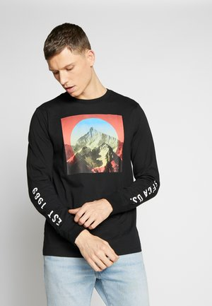 PHOTO - Long sleeved top - true black