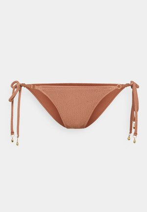 DIVE TIE SIDE RIO - Bikini bottoms - bronze