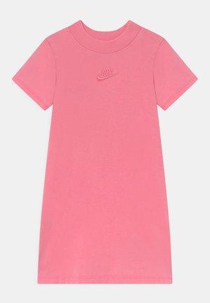 WASHED MOCKNECK DRESS - Jersey dress - pink