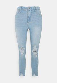 Hollister Co. - CURVY - Jeans Skinny Fit - indigo - 4