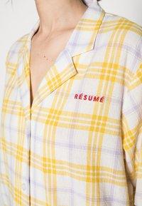 Résumé - ELISSAR SHIRT - Button-down blouse - yellow - 4