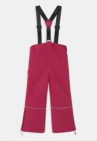 TrollKids - KIDS HOLMENKOLLEN SNOW SLIM FIT UNISEX - Snow pants - rubine-magenta - 2
