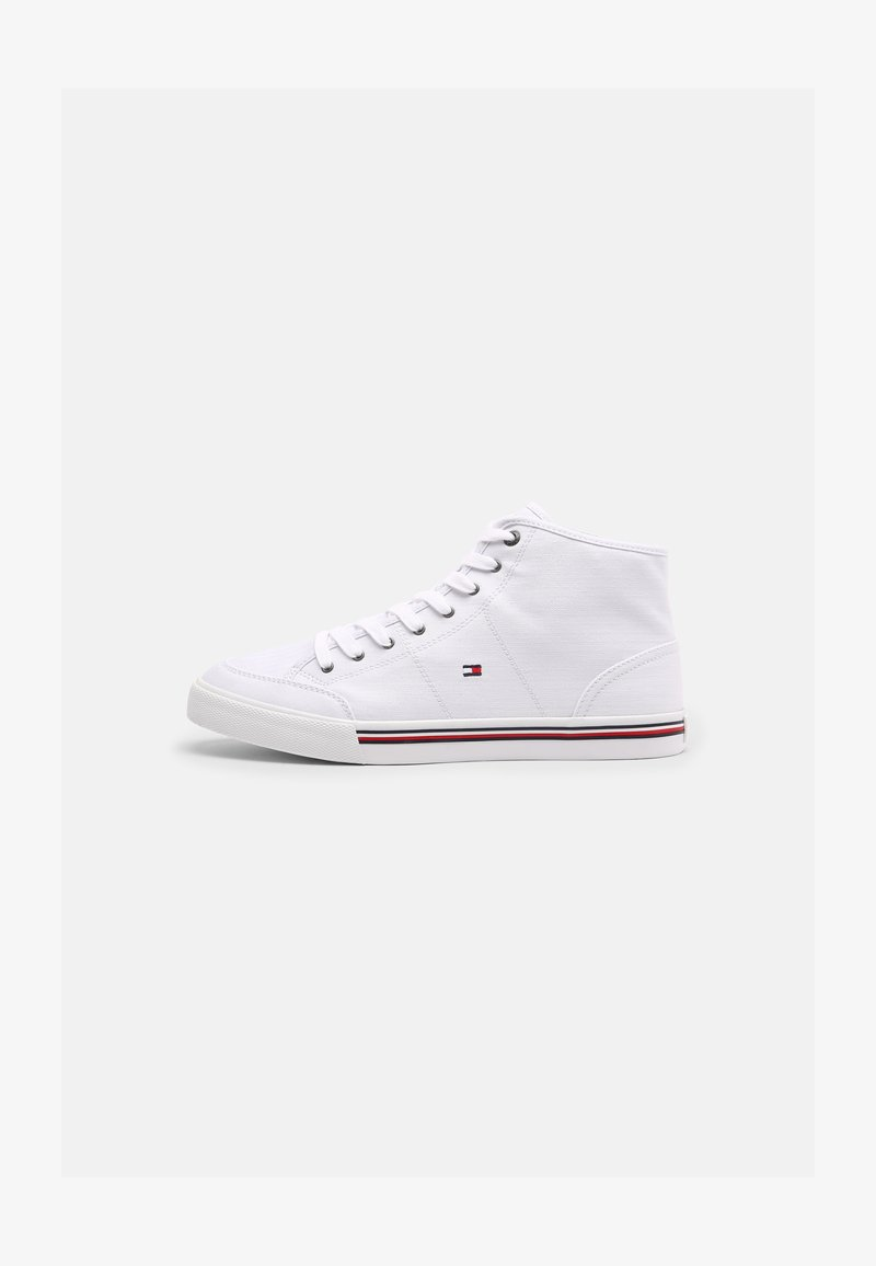 Tommy Hilfiger - CORE CORPORATE MID - Sneakers alte - white