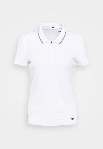 SLIM POLO - Polo shirt - white